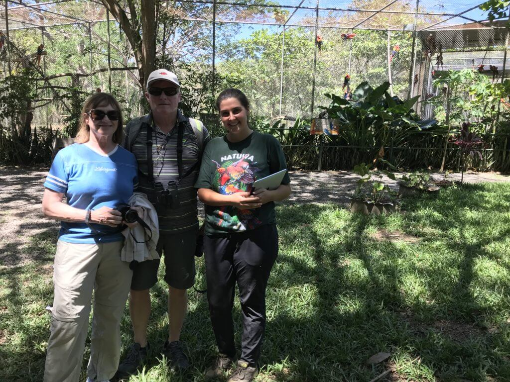 Volunteers support the Ecotourism and Environmental Education programs.