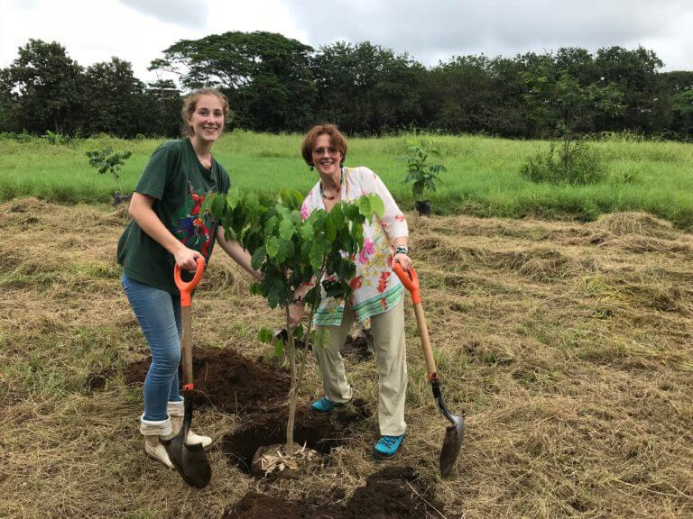 Celebrating Arbor Day in NATUWA Costa Rica